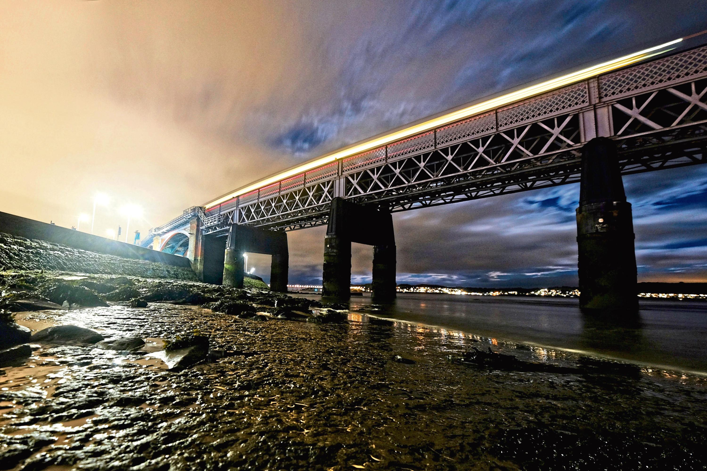 The Tay Rail Bridge today.