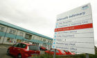 The child was taken to Arbroath Infirmary for treatment.