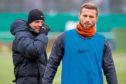 Pavol safranko 29/01/19 DUNDEE UNITED TRAINING ST ANDREWS Dundee United manager Robbie Neilson