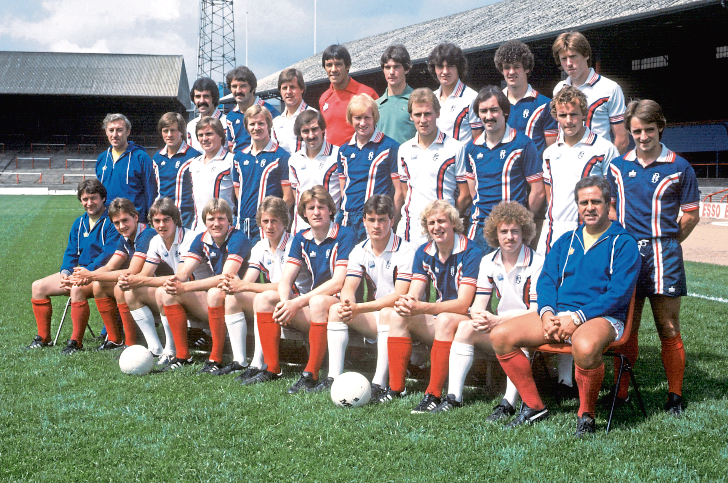 The 1979/80 Dundee Premier Division team.