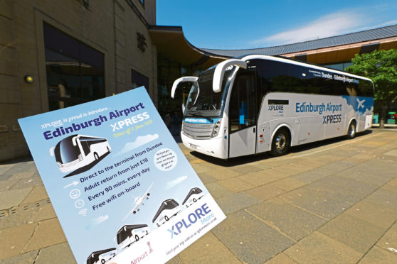 Xplore Dundee has launched its Edinburgh Airport Xpress Service.