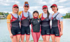 From left: Hannah Campbell, Eleanor Brinkhoff, Isabella Ashcroft, Katie Canniford and Fiona Lapp.