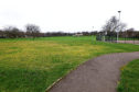 The area of Baxter Park where the new skate park would be located.