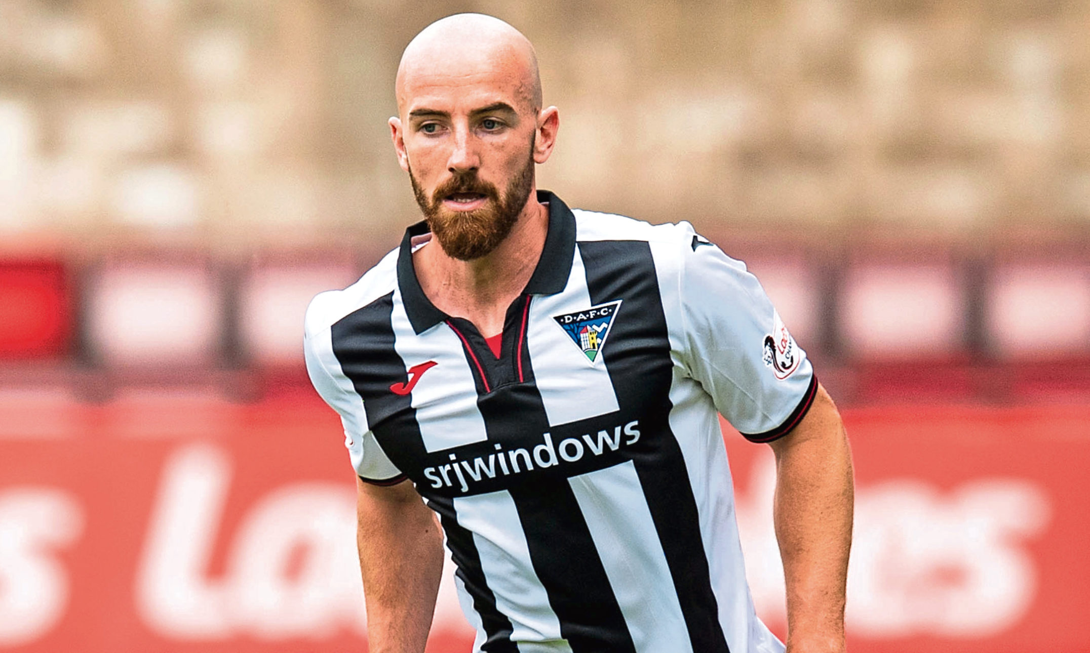 James Vincent in action for Dunfermline.