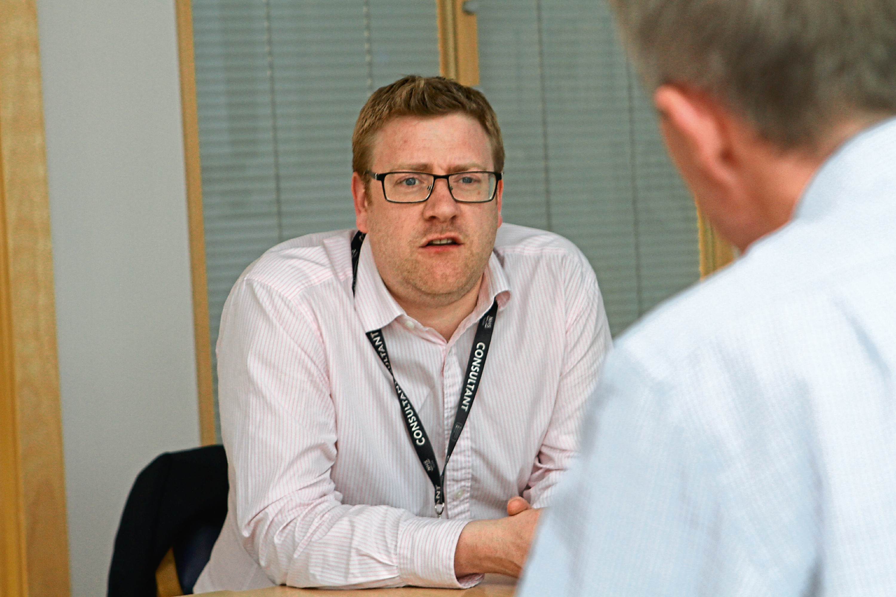 Dr. Chris Schofield - lead clinician for diabetes and endocrinology for NHS Tayside.