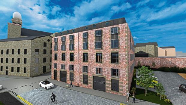 Baxter's Mill development.