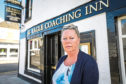 Debbie Findlay, landlady of the The Eagle Inn in Broughty Ferry.