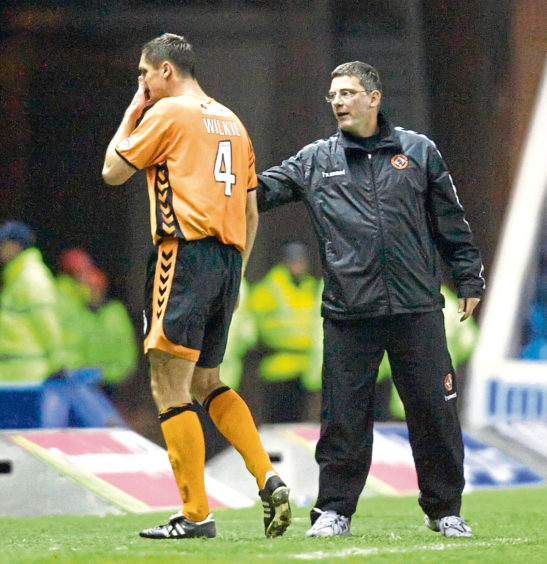 Lee Wilkie during his time at Dundee United