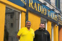 Sandy Smith (left) and Chris Smith from Radio Taxis.