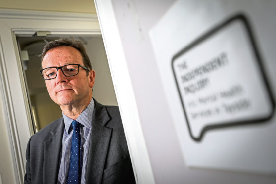 David Strang, Chairman of the Independent Inquiry into Mental Health Services in Tayside.