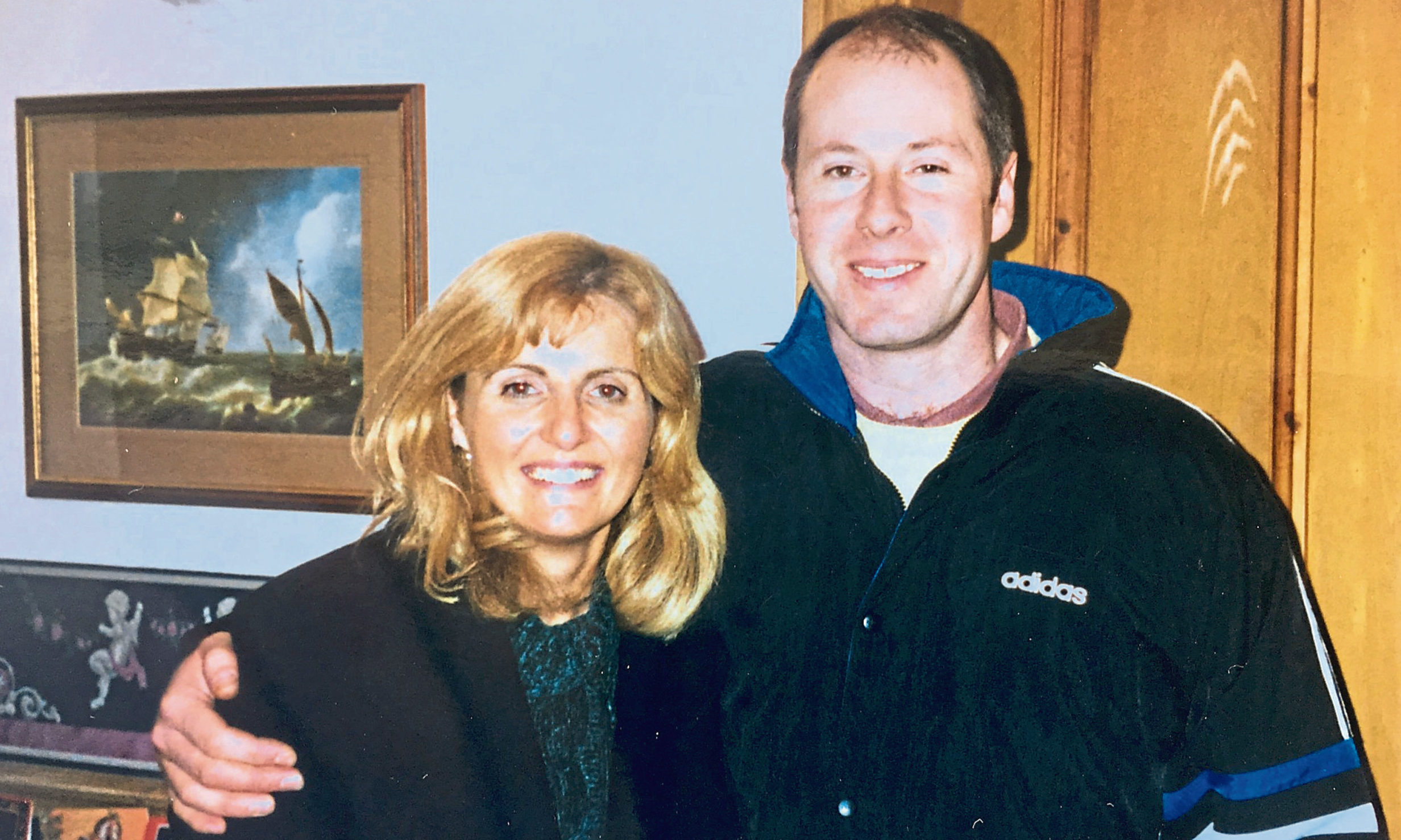 Colin Guild of Dura Street Motors, with his wife Margaret.