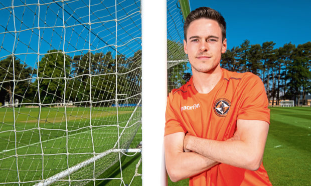 Dundee United's summer recruit Liam Smith looks ahead to the new season.