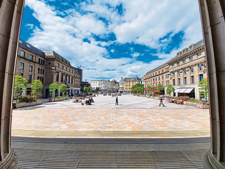 City Square.