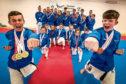 Kanzen Karate medal winners.