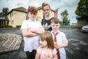 Karen Cullen with her children Maison 9, Saul, 6, and Pyper-Rose 4.
