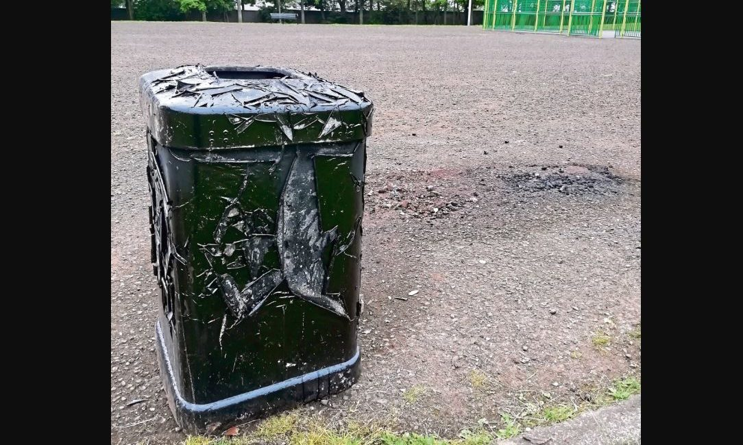 The bin has since been removed by council officers.