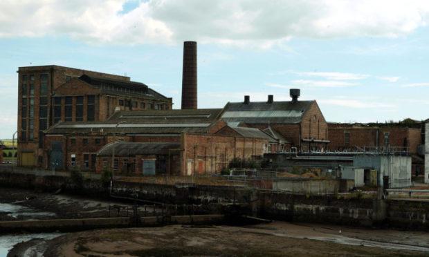 The former Guardbridge Paper Mill.