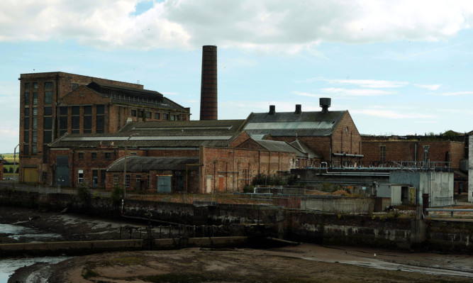 The former Guardbridge Paper Mill.