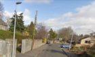 Boniface Road in Invergowrie.