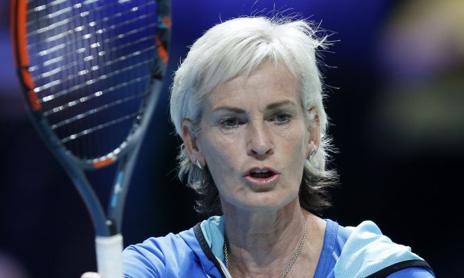 Judy Murray was unhappy with the bus being parked in the tennis court, but has now been asked by the council to see the refurbishment that has been done on city tennis courts.