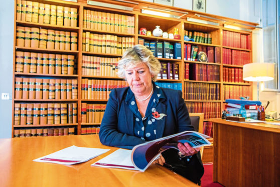 Lady Dorrian, Chair of Scottish Sentencing Council.