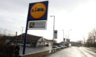 The Lidl store in Macalpine Road.