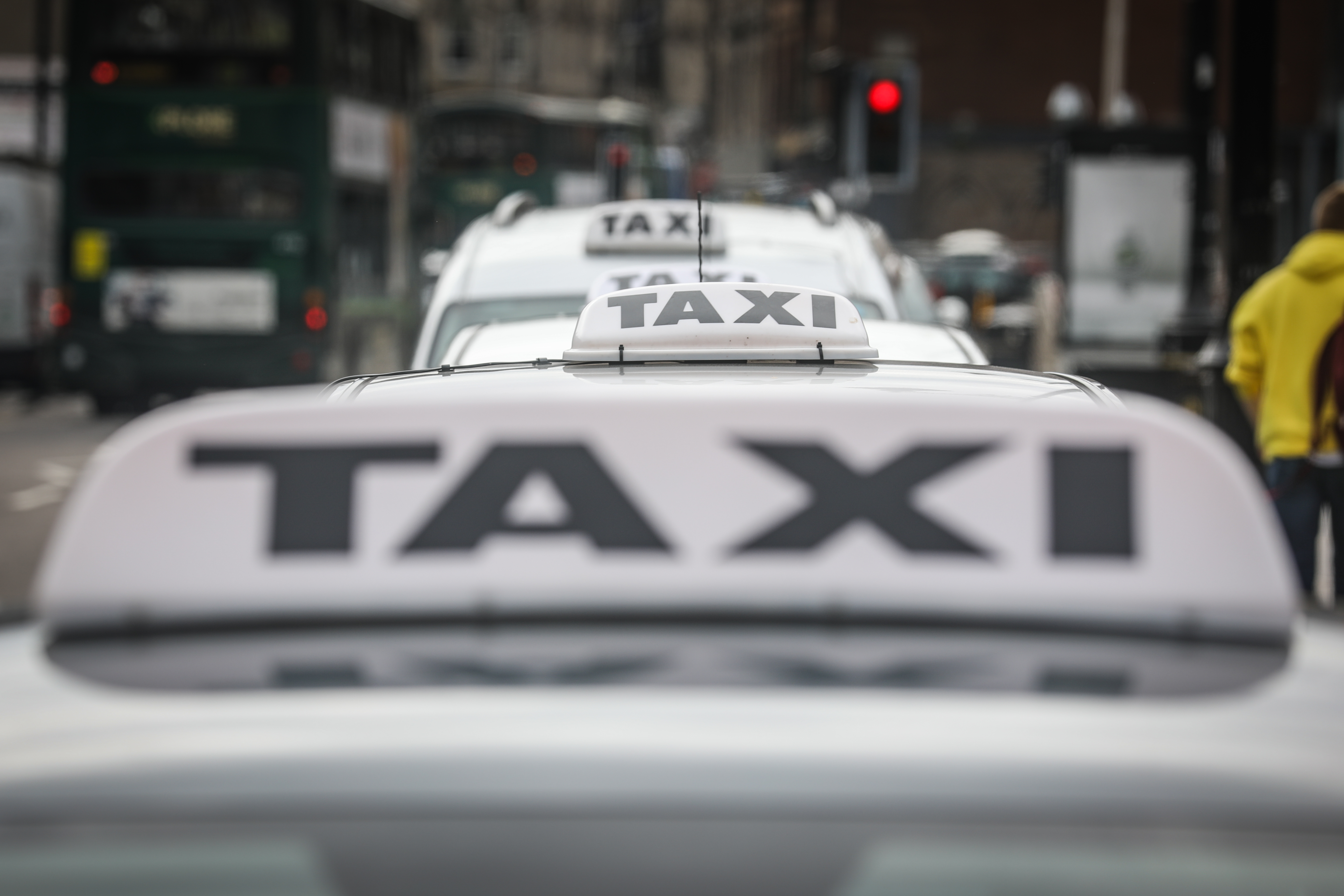 The incident took place at the Brook Street taxi rank.