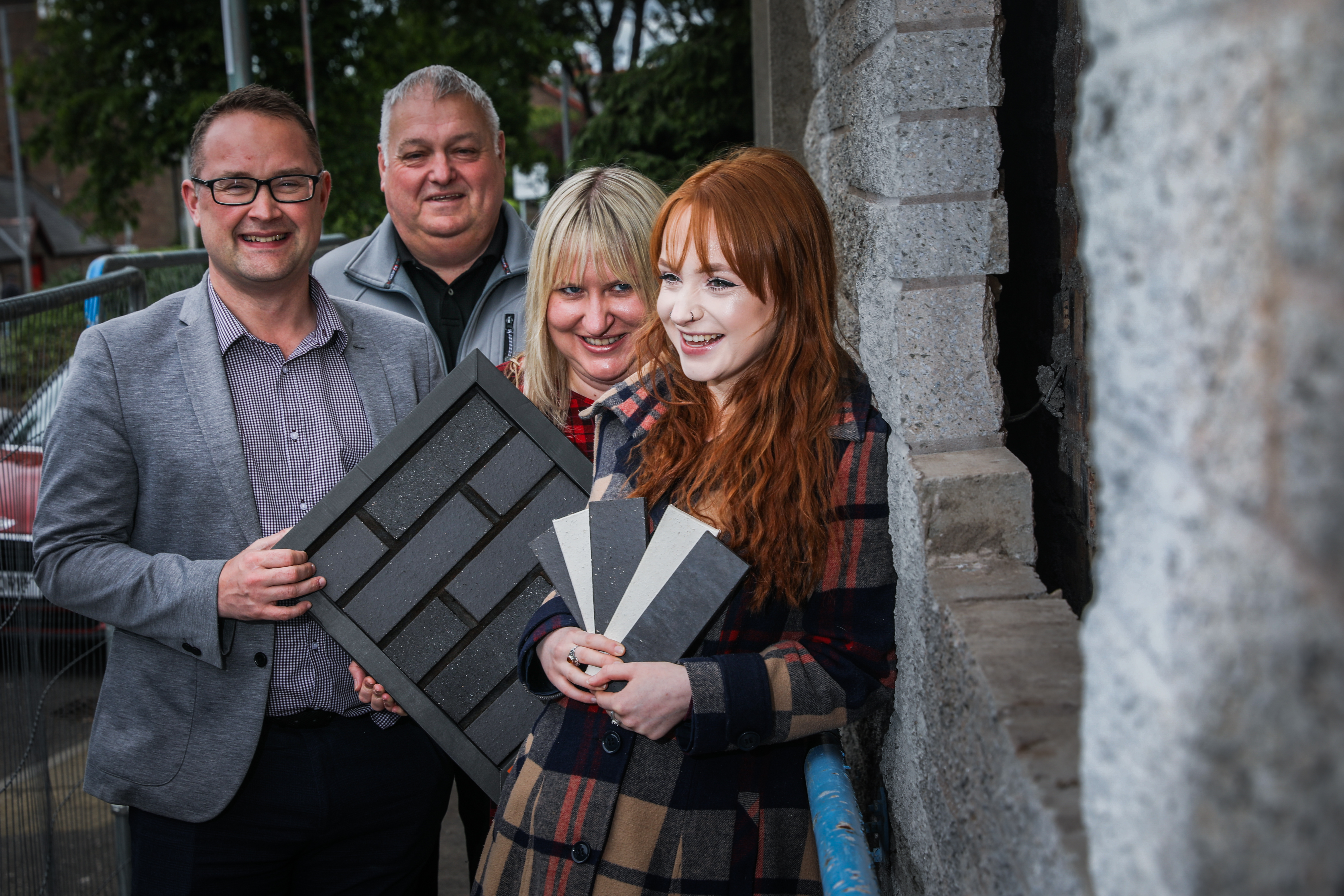 Some of the members of the Montrose Playhouse Project: Chairperson David Paton, Keith Wellington, Kristin Alexander and Maddy Doig.