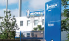 The Michelin site in Dundee.