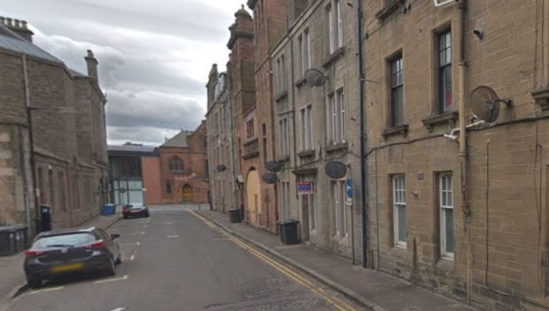 The offences are alleged to have taken place in Nicoll Street in Dundee city centre.