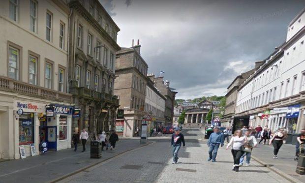 Reform Street, Dundee. (Stock image).