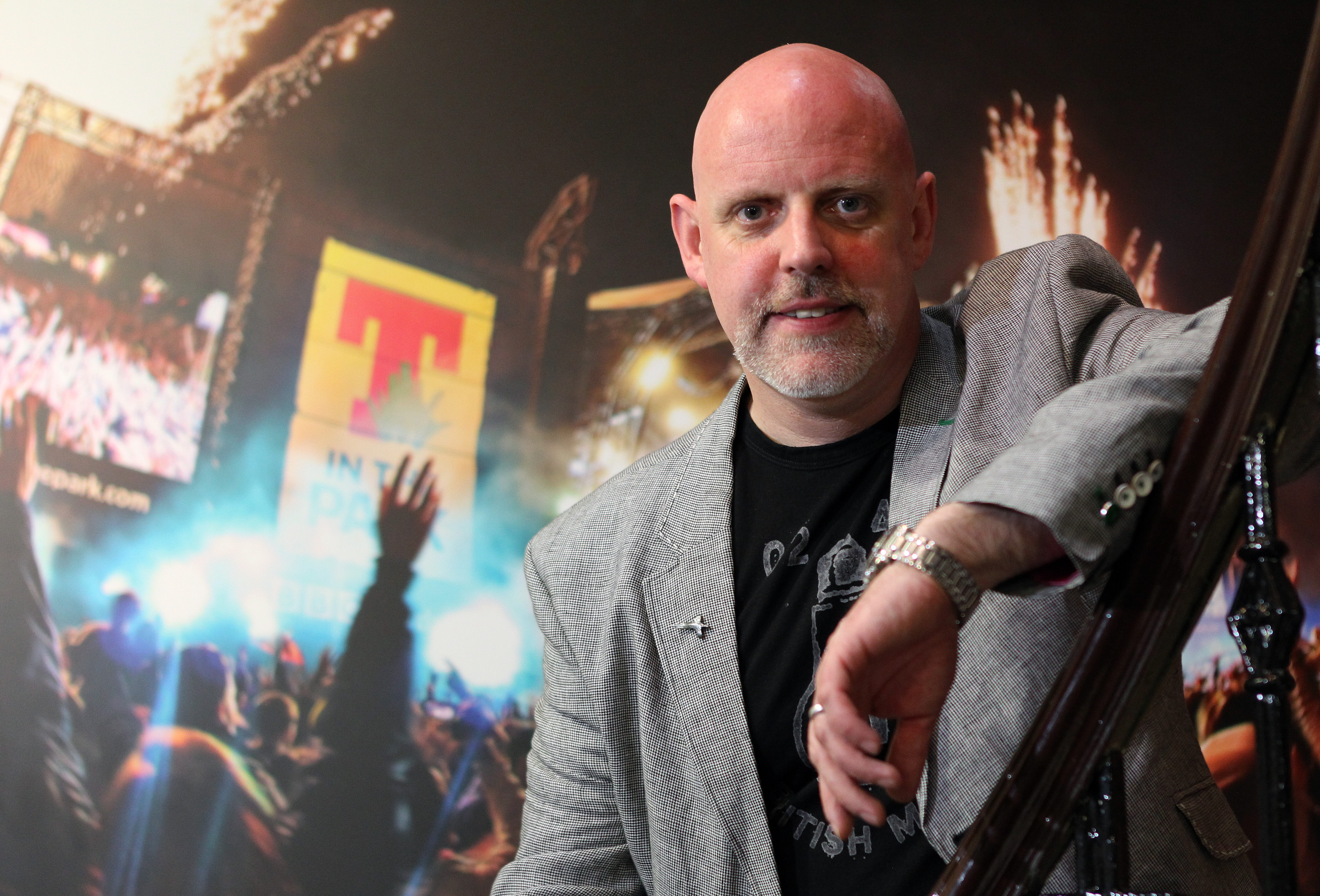 T in the Park boss and founder, Geoff Ellis.
