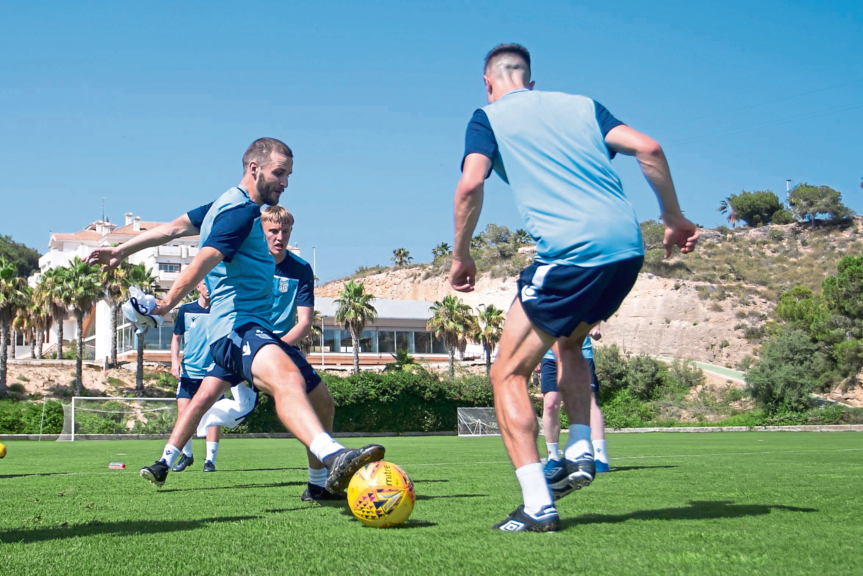 Dundee are in Murcia for pre-season.