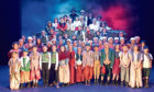 The ensemble cast of Les Miserables from last year.
