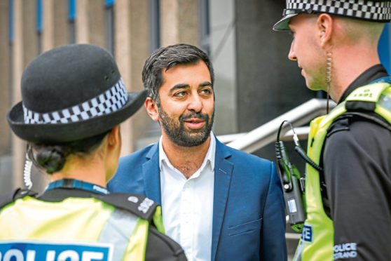 Cabinet Secretary for Justice Humza Yousaf.