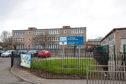 Longhaugh Primary School, before it was demolished