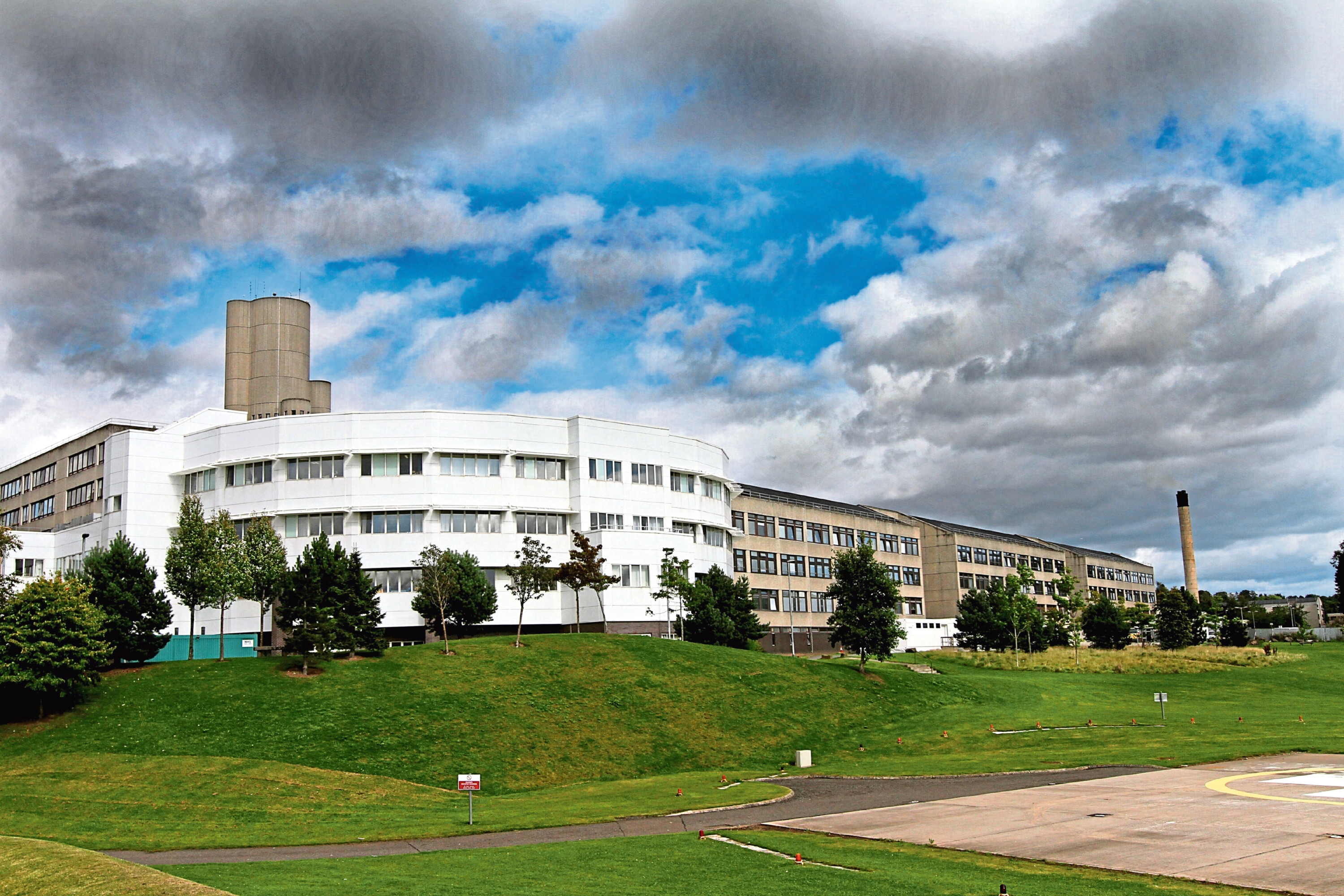 Ninewells Hospital is the largest medical facility in Tayside.