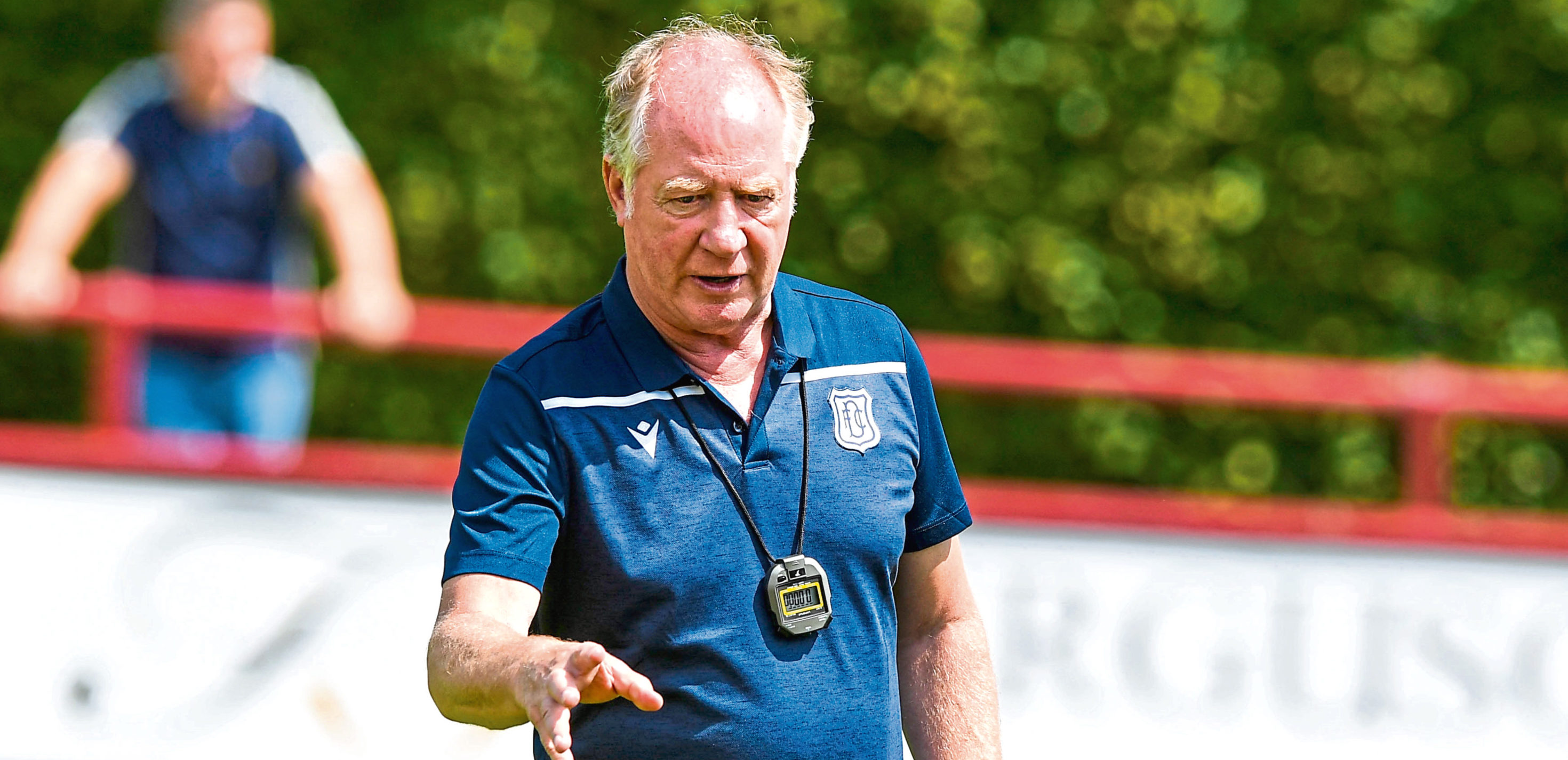 Jimmy Nicholl left Dundee this summer due to cost-cutting measures.