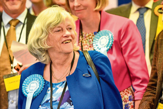 Brexit Party candidate Anne Widdecombe.