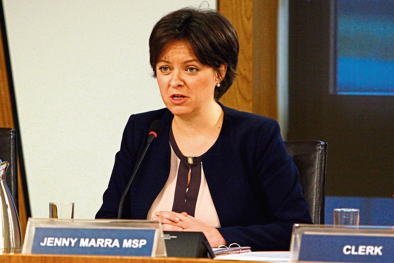 Scottish Labour MSP Jenny Marra.