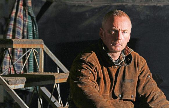 Sculptor Andy Scott.