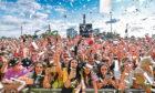 Fans enjoying the festival.