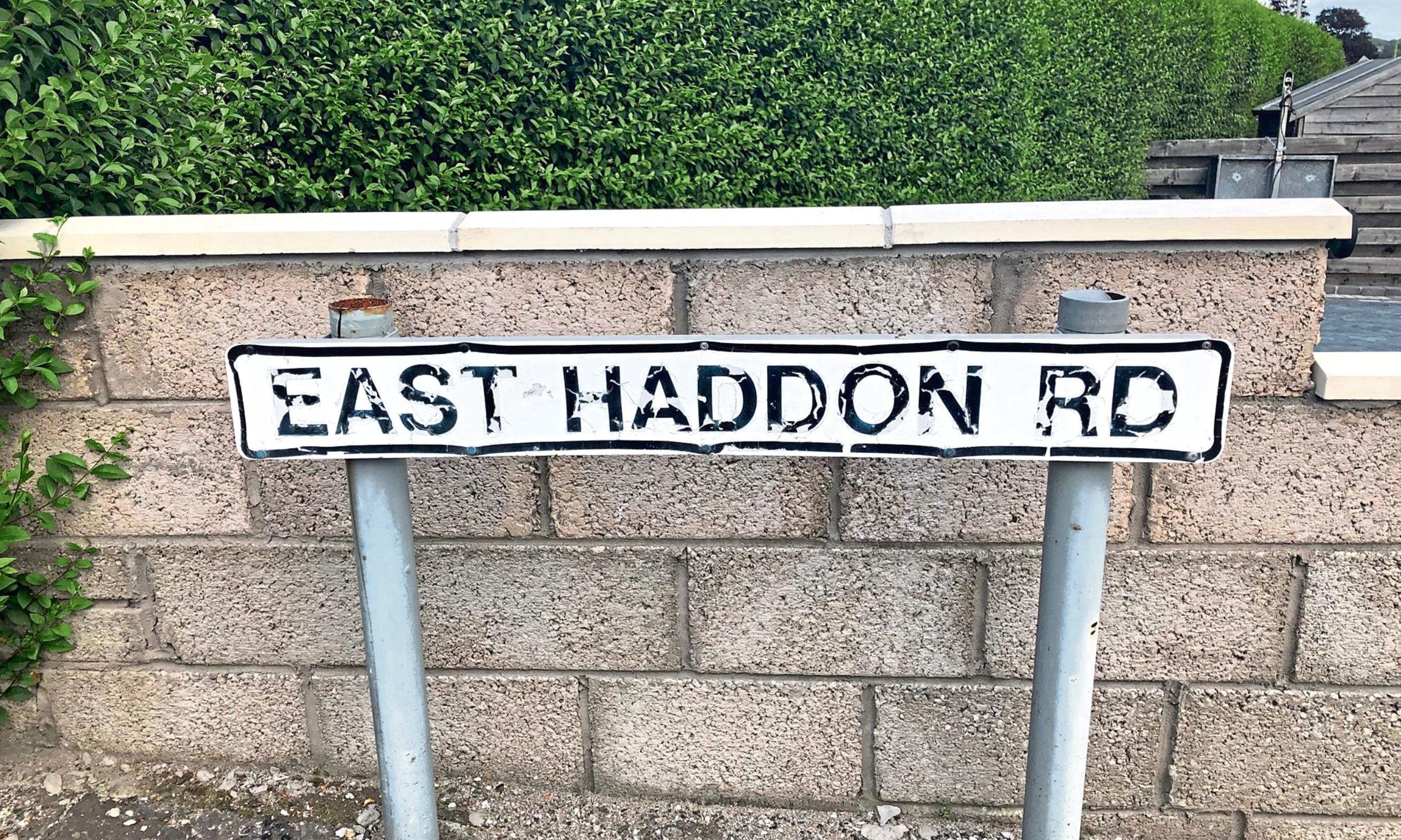 East Haddon Road.