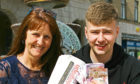 Alison and Lewis Middleton, winners of the  Wave FM and The Tele's Most Wanted competition on Monday.