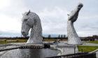 Andy Scott's Kelpies, Helix Park, Falkirk.