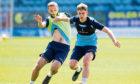 Finlay Robertson in training.