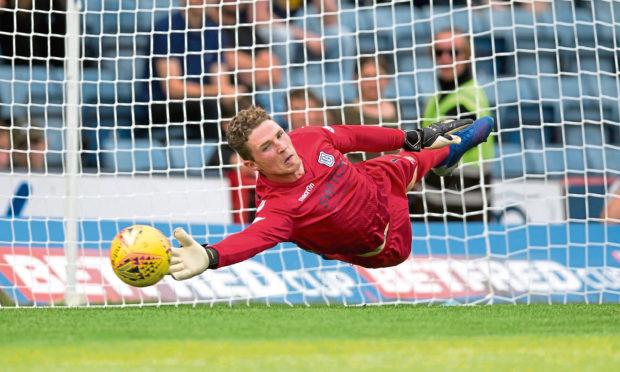 Jack Hamilton has received praise from Dens boss James McPake.