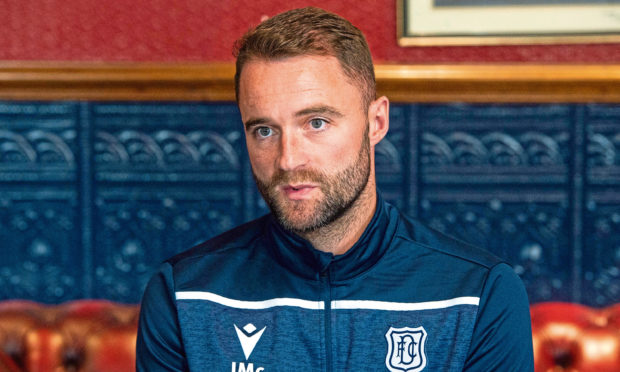 Dundee boss McPake can't give agents an answer on contracts for next season.