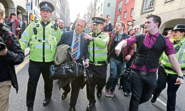 Nigel Farage is a controversial character in UK politics.