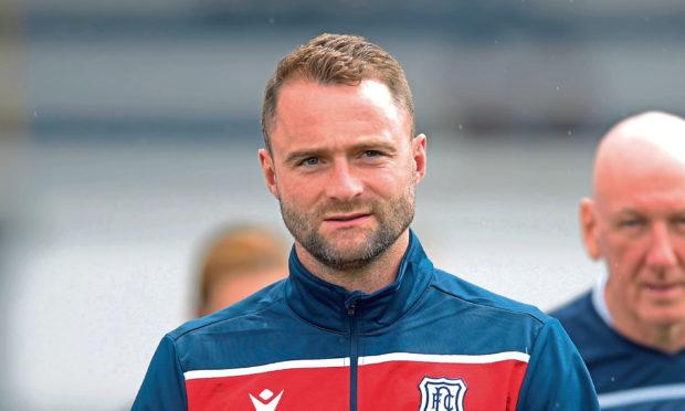 Dundee manager, James McPake.